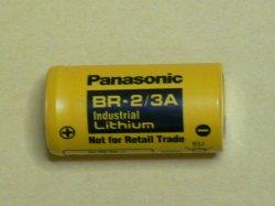 画像1: パナソニック リチウム電池 BR-2/3A